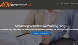 Portfolio Labweb.nl, AOVnederland.nl, website maken