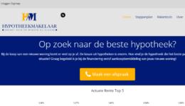 Portfolio Labweb.nl-De Hypotheekmakelaar-dehypotheekmakelaar.com-Bert-Jan Hintzbergen_def, website maken